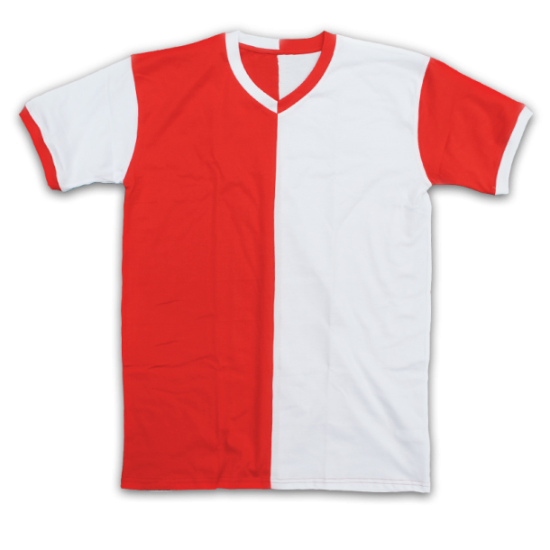 t shirt rood wit